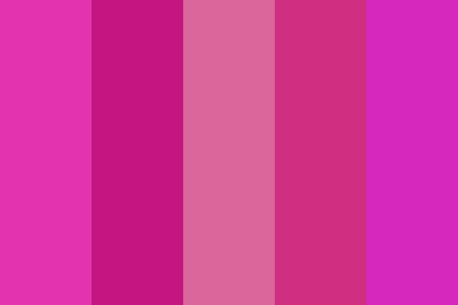 My Name Is Pink And I Dont Care About My Own Death Color Palette
