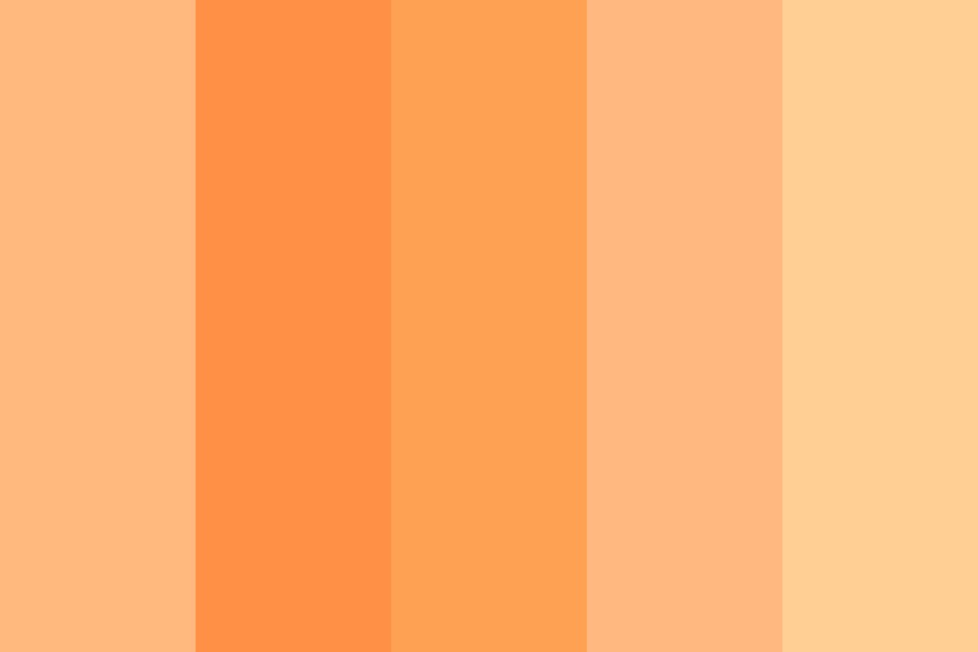 My Orange Light Color Palette