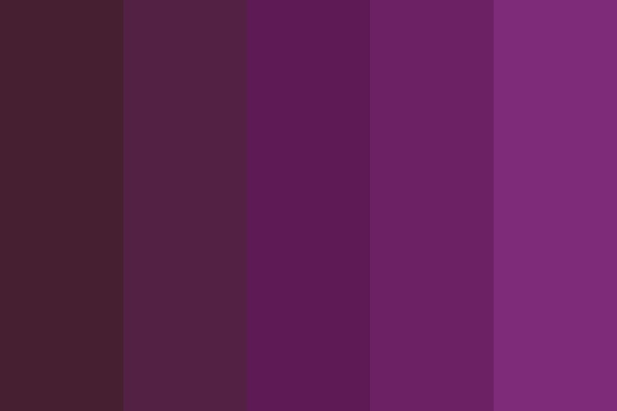 My Purple Palette Color Palette