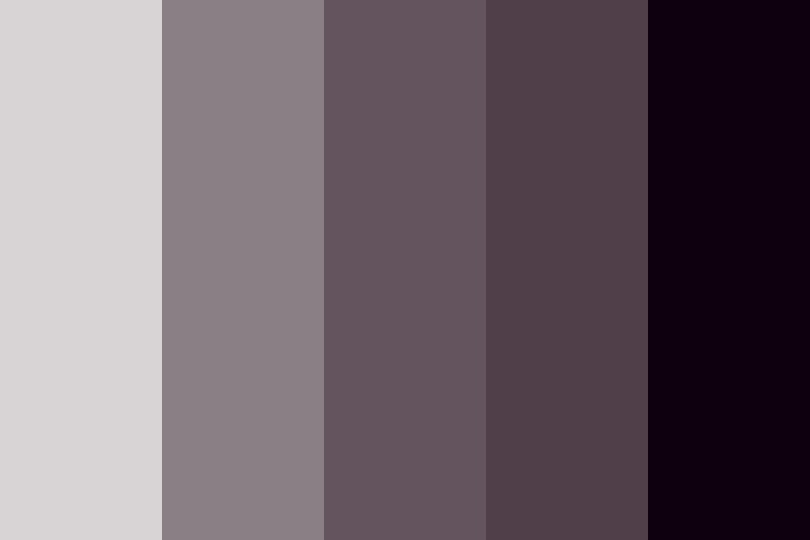 My Purples Color Palette