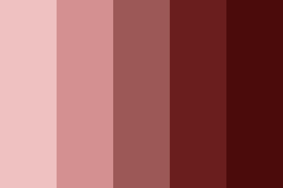 My Red Color Palette