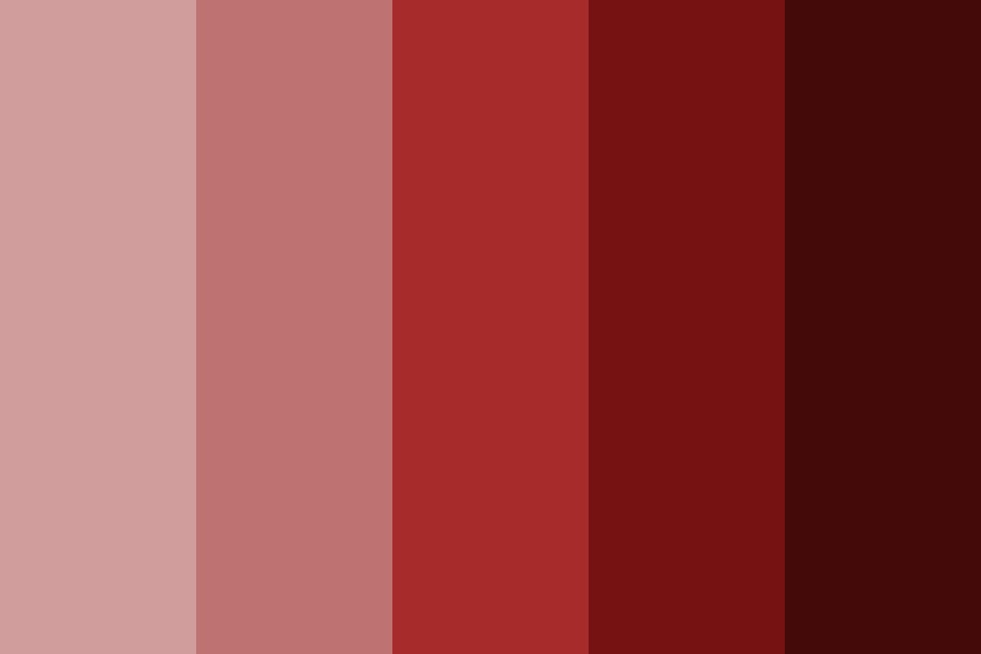 My Reds Color Palette