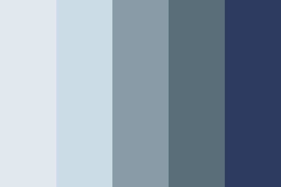 My Shades Of Blue Color Palette