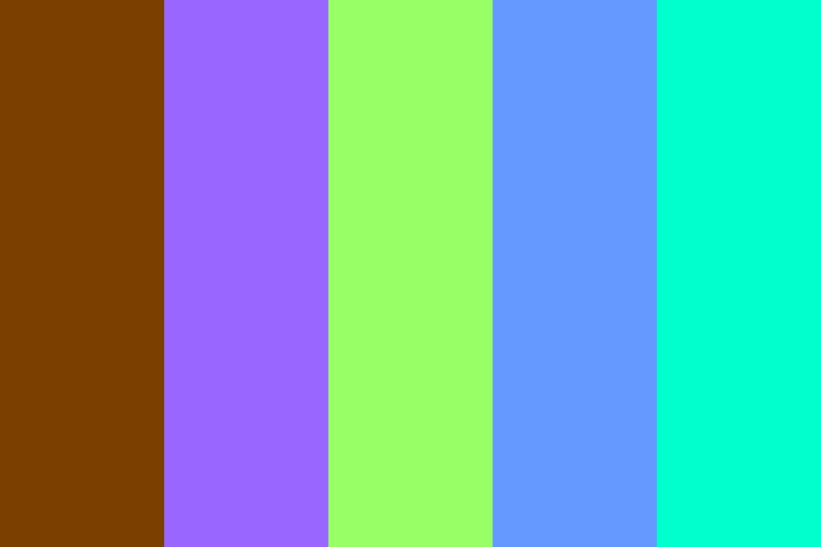 My Signature Wzw Colors Color Palette