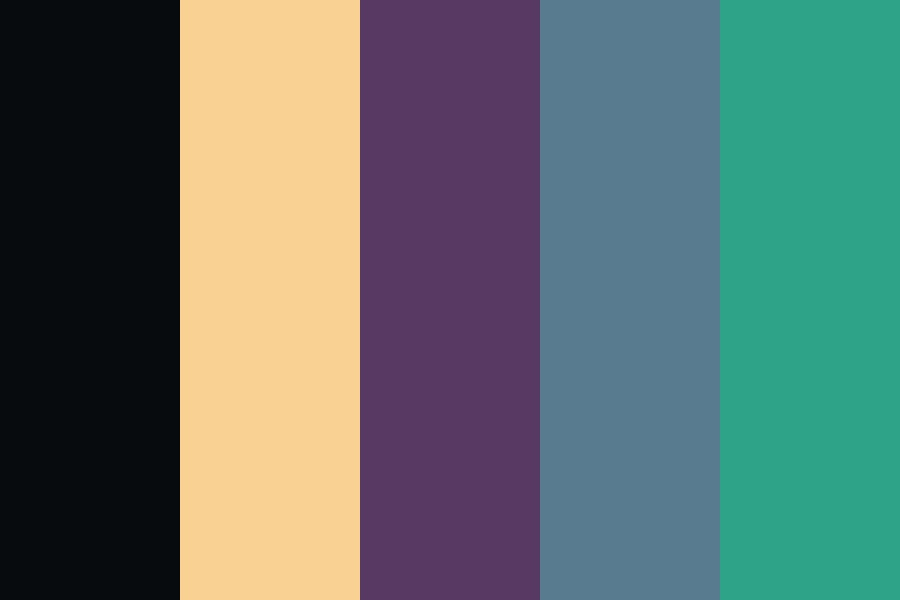 My Songs Know What You Did In The Dark Color Palette