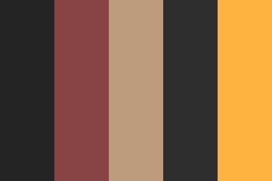 My Website Coffee Pallette Color Palette