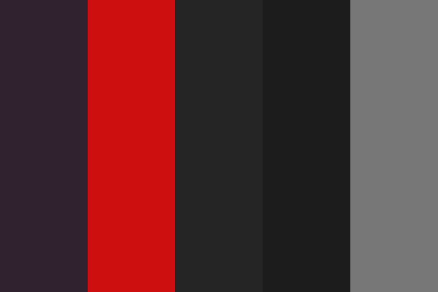 My Website Darks Color Palette