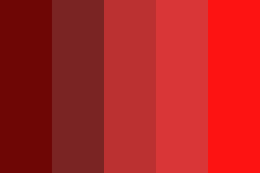 Myfirstred Color Palette