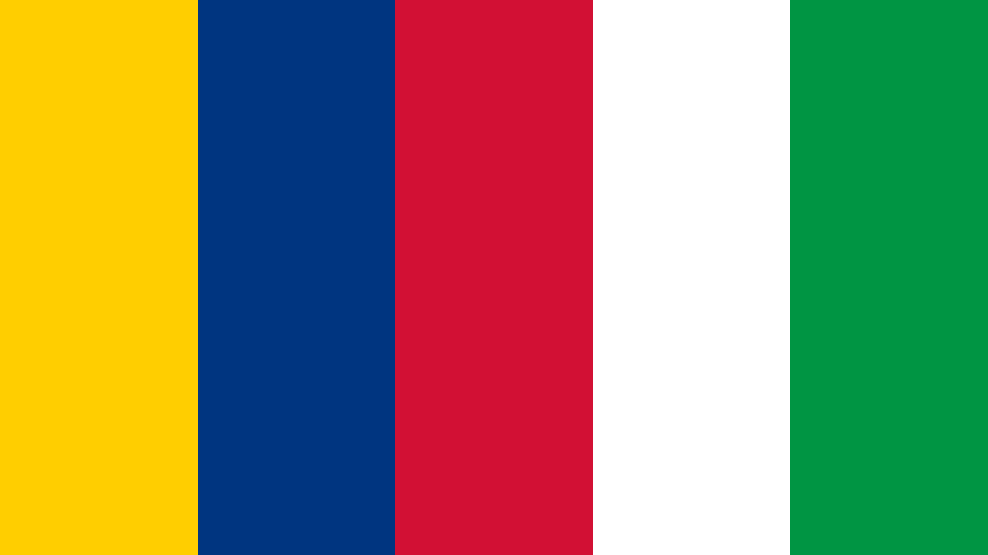 Namibia Flag Color Palette