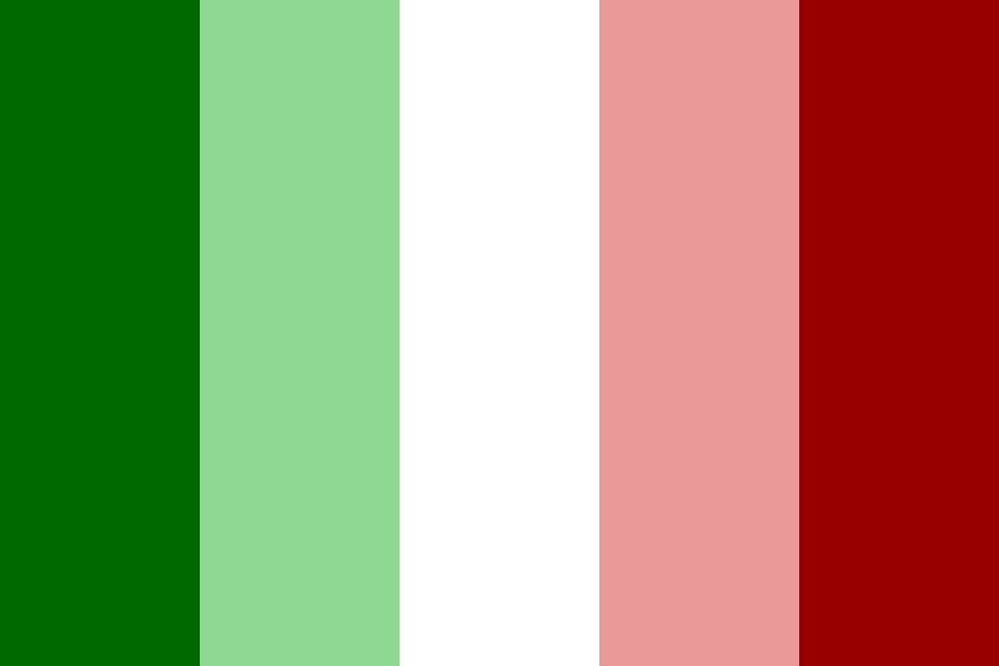 National Flag   Italy Color Palette