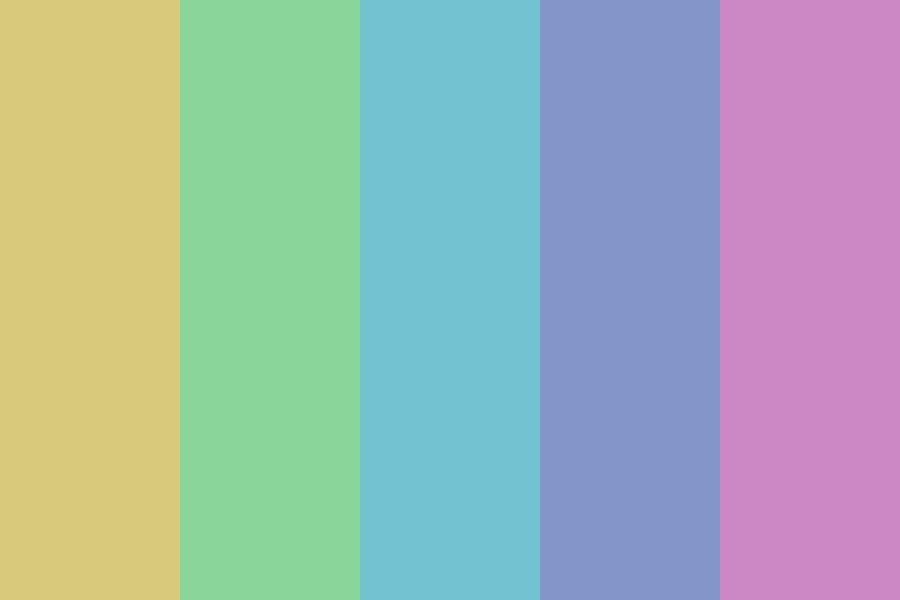 Natural Pastel Color Palette