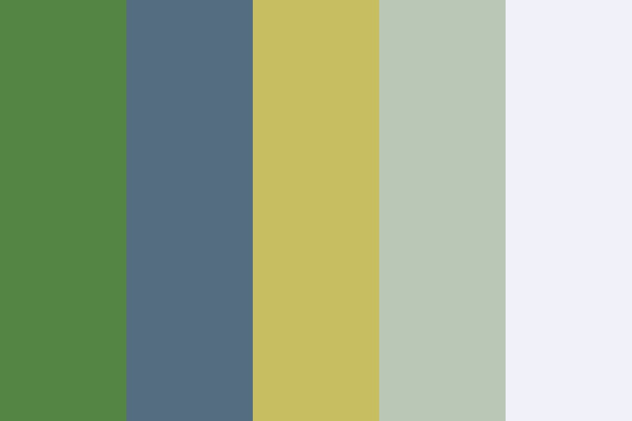 Naturally Vintage Color Palette