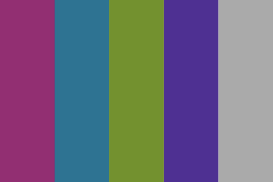 Naturally Vivid Color Palette