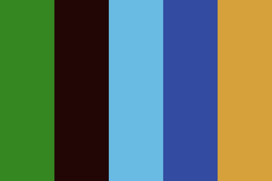 Nature Notes Color Palette