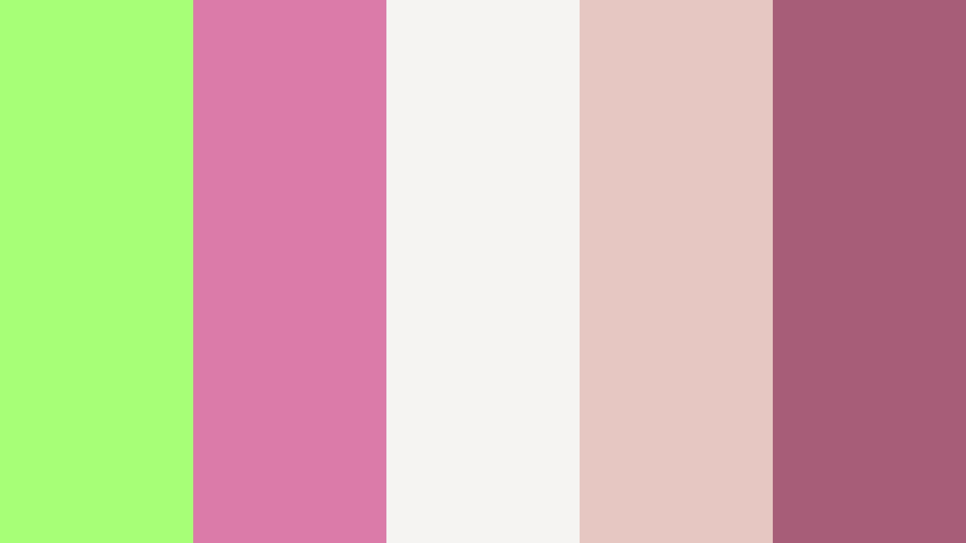 Naughty & Sober Color Palette