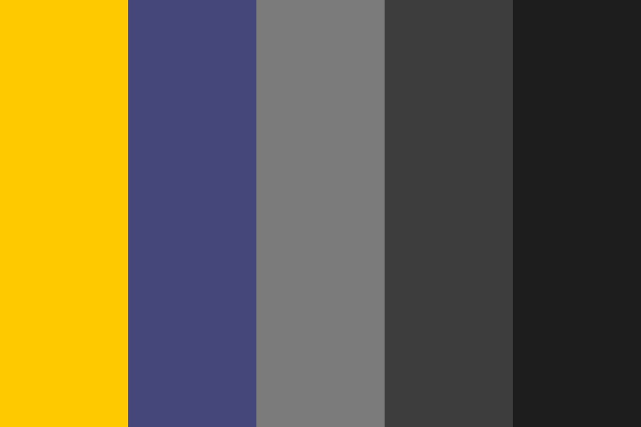 Navy Gold Color Palette