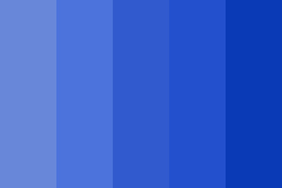 Nawp Blues Color Palette