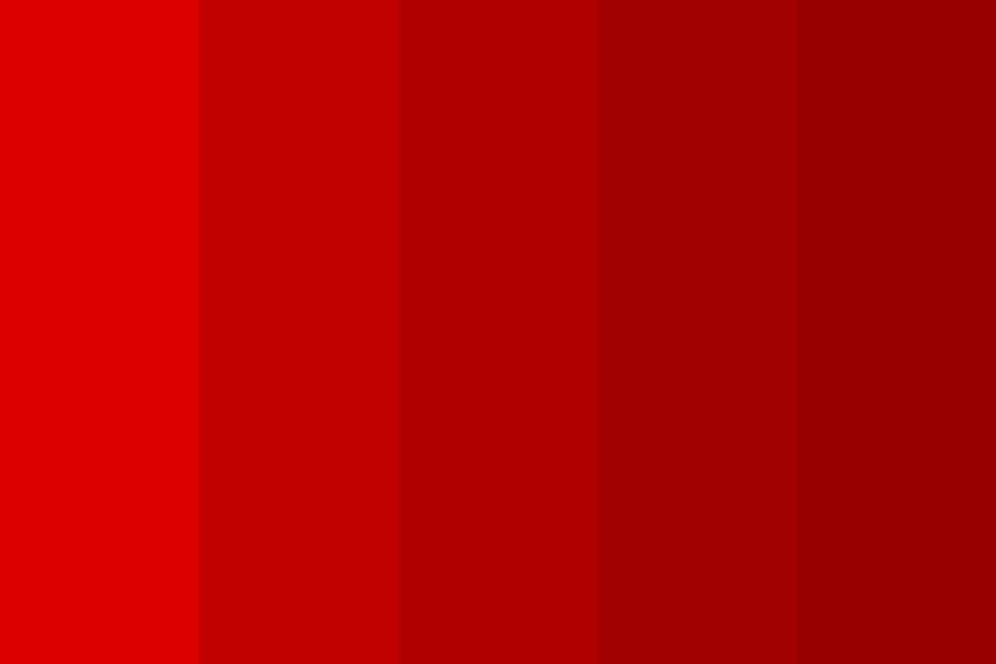 Nawp Reds Color Palette