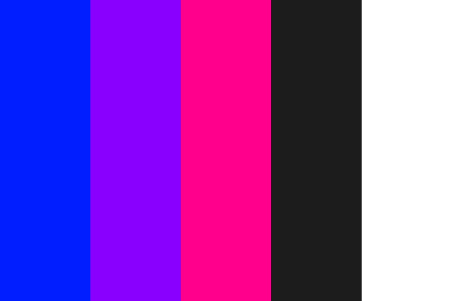 Neon Dark Color Palette
