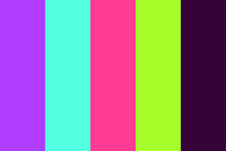 Neon Light Color Palette