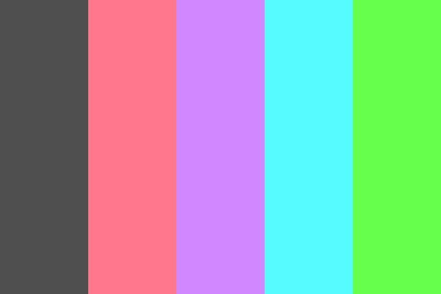 Neon Shock Color Palette