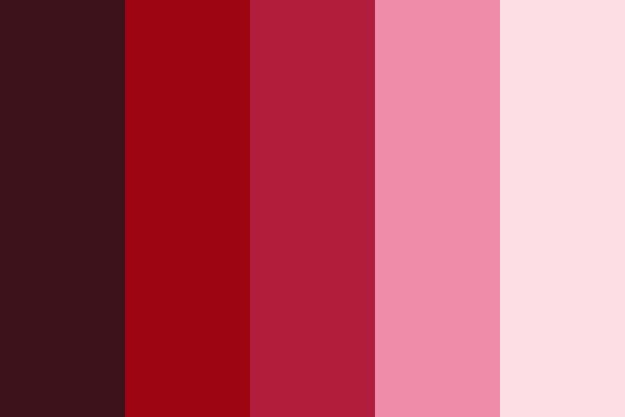 Neon Sign Reds Color Palette