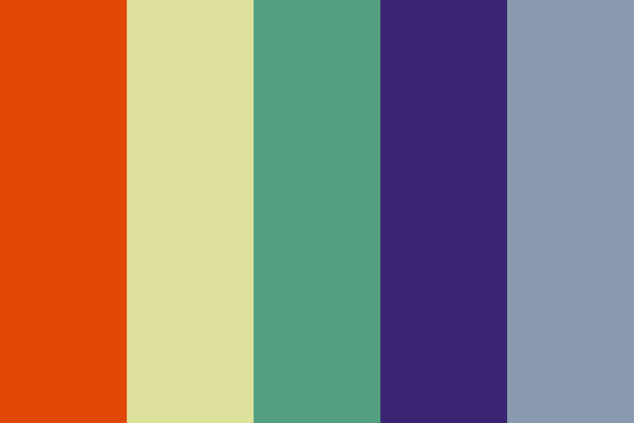 New Retro Color Palette