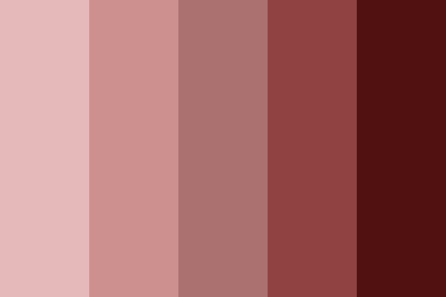 Next Red Color Palette