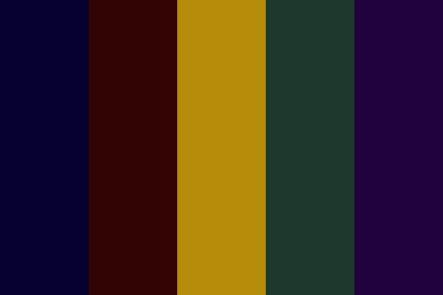 Night And Moon Theartre Color Palette