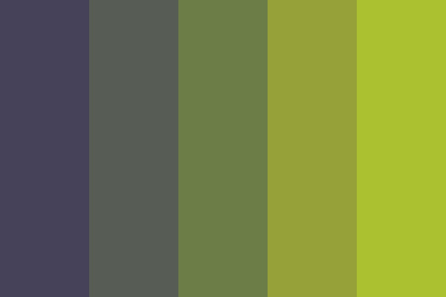 Night Brush Color Palette