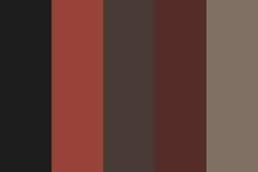 Night Fire Color Palette