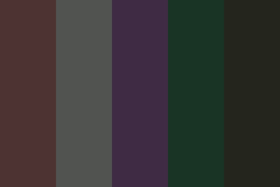 Night Forest Color Palette