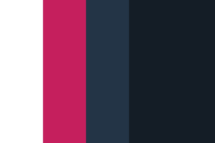Night Mode Twitter Color Palette