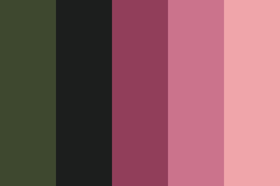 Night Roses Color Palette