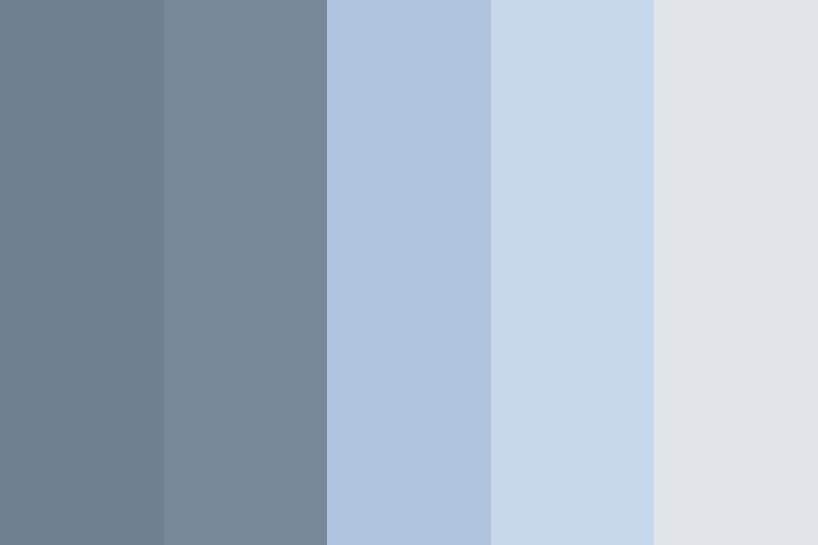 Night Time Color Palette