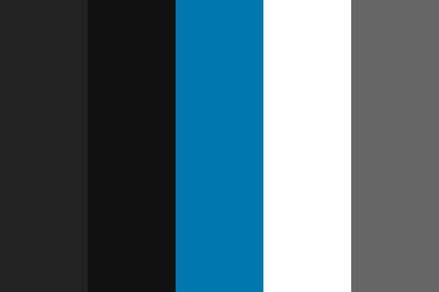 Night Time Webpage Color Palette