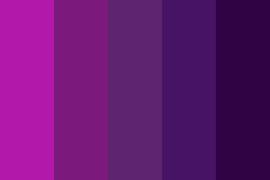 Nightmare Before Christmas Color Palette