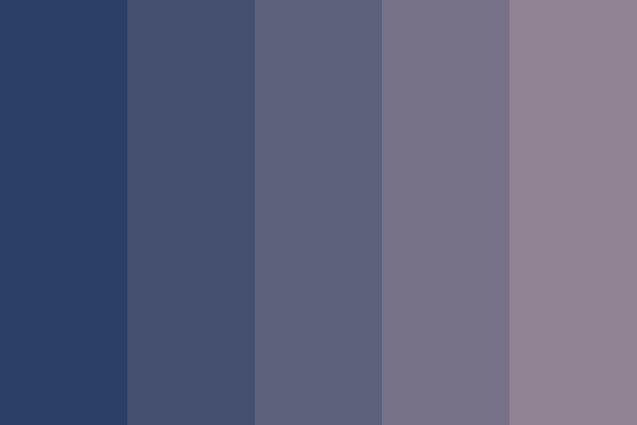 Nighttime Bloomer Color Palette