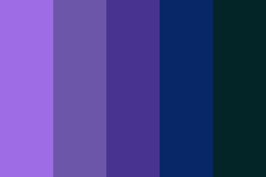 Nighttime Fantasies Color Palette