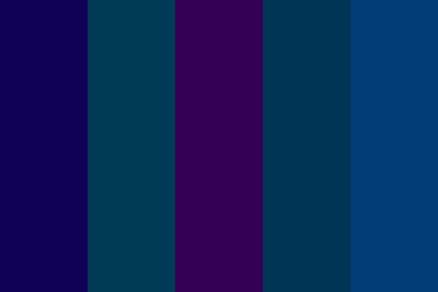Nighttime Forest Mysteries Color Palette