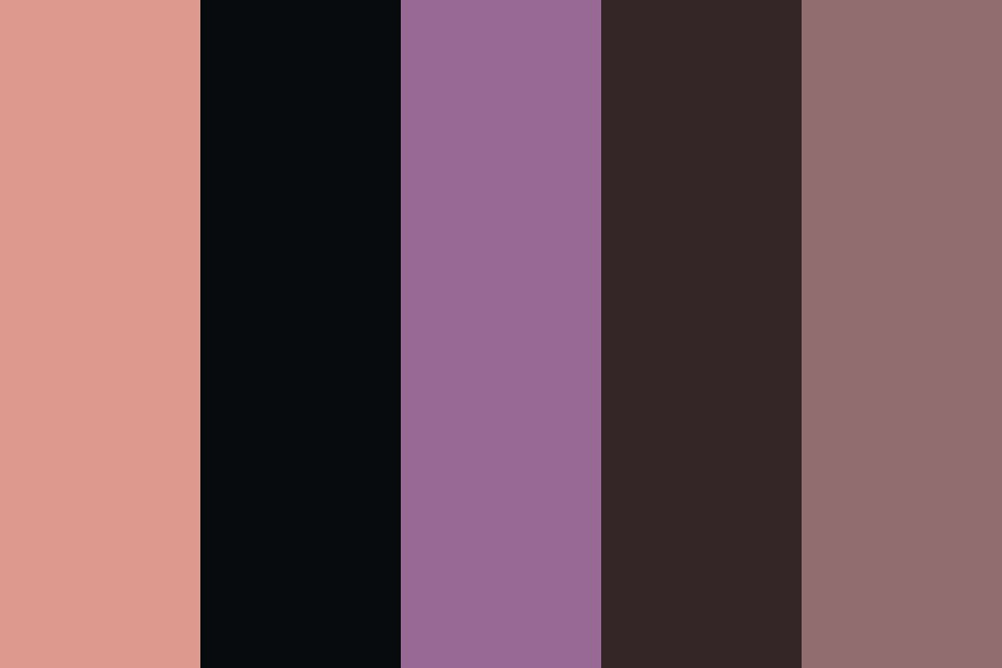 Nighttime Neighborhood Color Palette