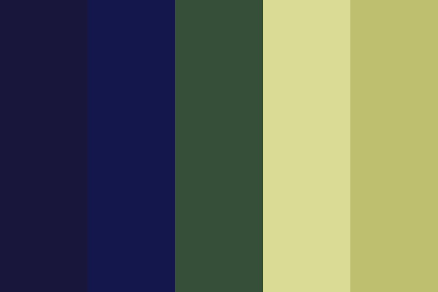 Nighttime Stardust Color Palette