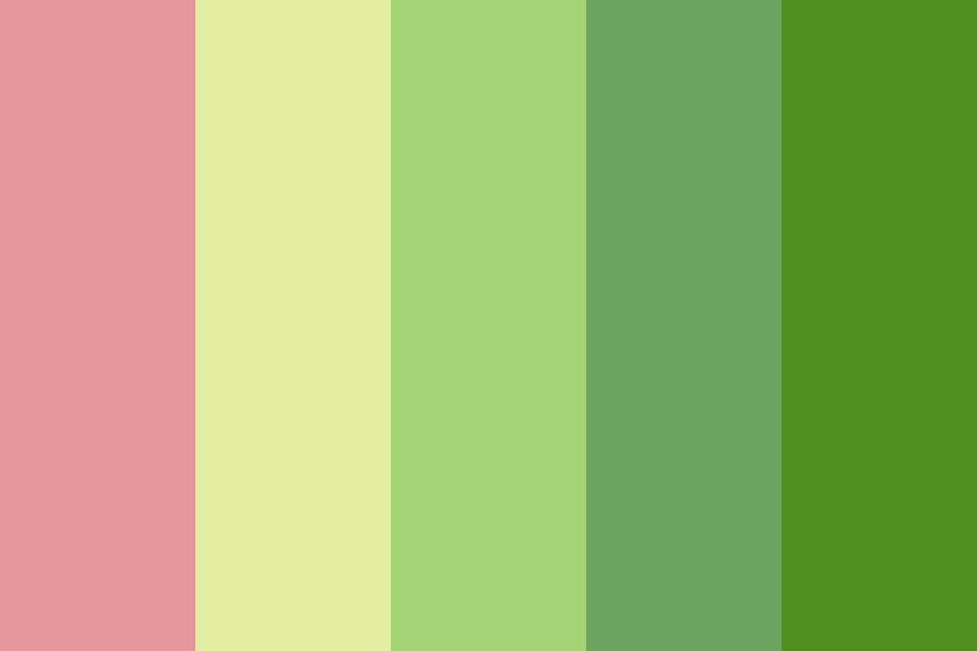 No One Ever Cared Color Palette