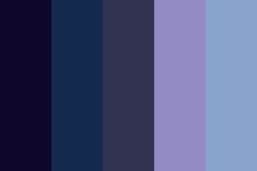 Nobody Is Cool Color Palette