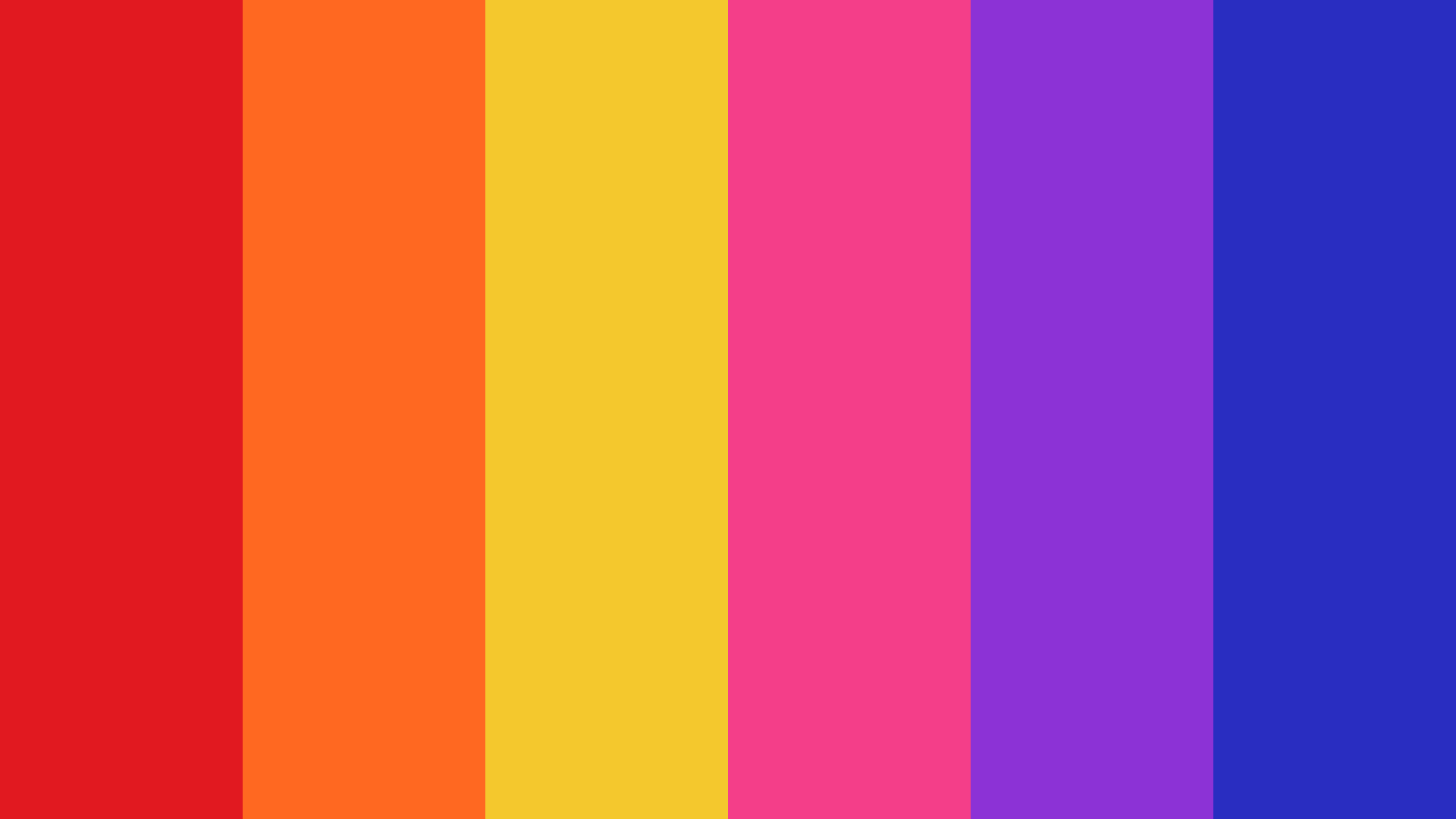 Not Less At All Color Palette