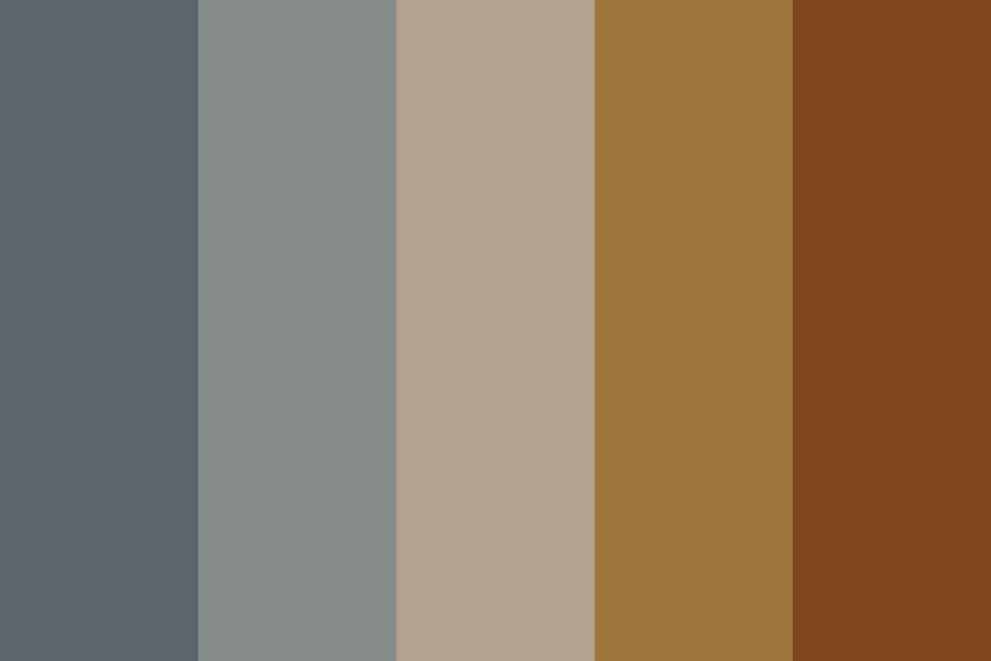 Not Particular To Blue Eyes Color Palette