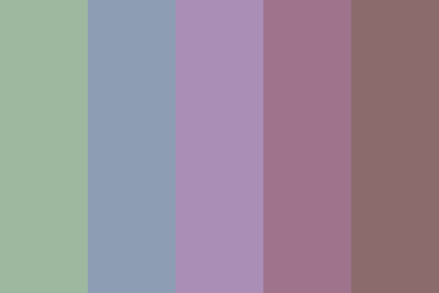 Not So Traditional Spring Colors Color Palette