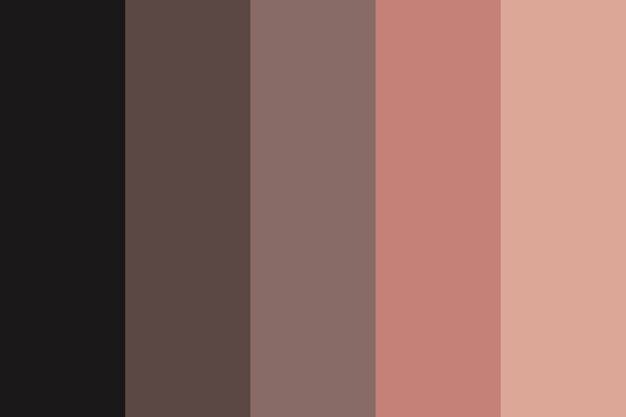 Nude And Pink Color Palette