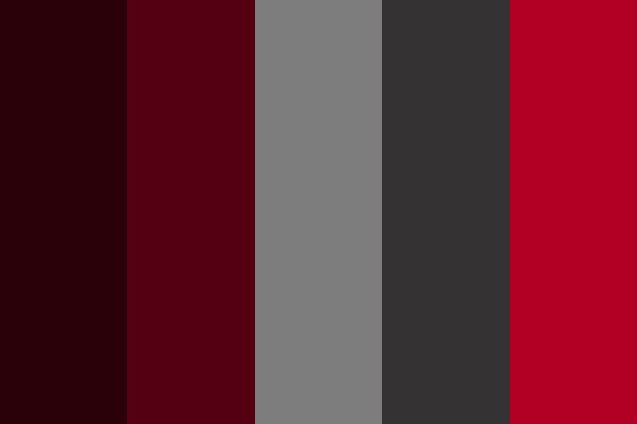 Oakers Red Color Palette
