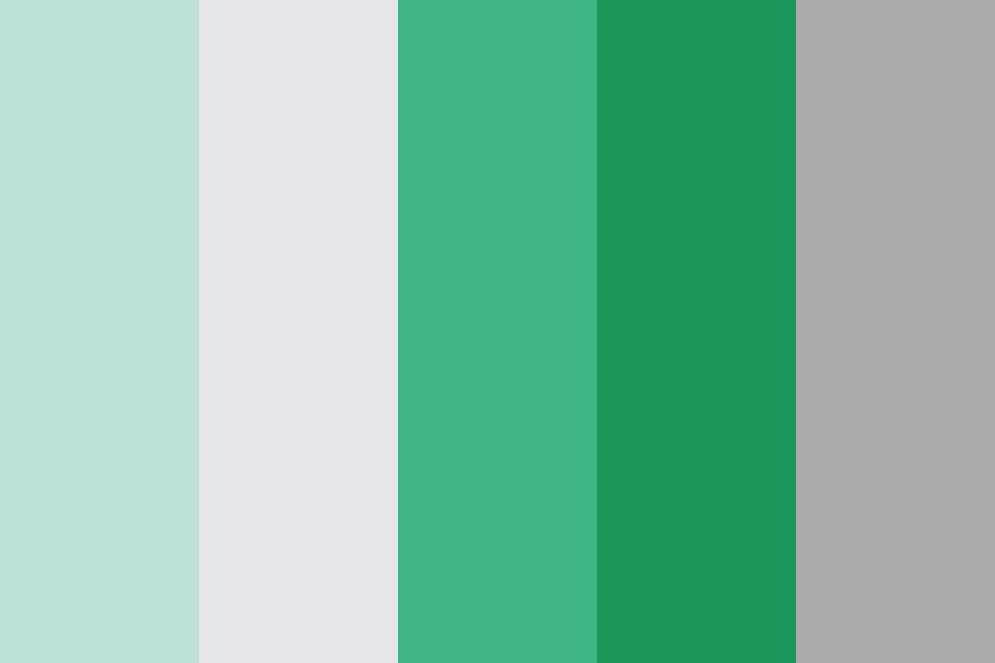 Ocean And Woodland Color Palette